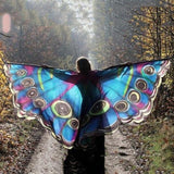 Butterfly Wing Shawl, Aenyx,