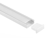 LED Profile Aluminum Low Profile/Shallow
