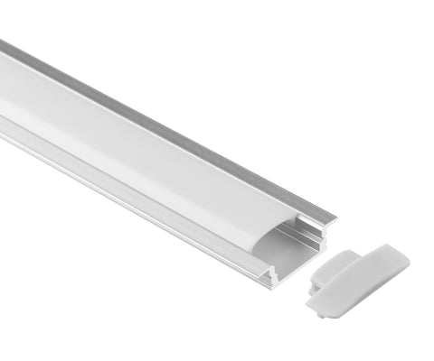 LED Profile Flush Mount for Indent Application