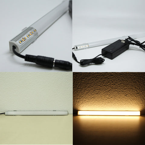 Custom 12V Single color UL Strip Light in Custom Channel