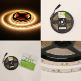 24V UL Strip Light 3528 SMD 16.5ft. 2.9W and 1.5w/ft (Free Shipping In USA)