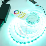 24V/ 4Chips in 1Chip RGBW(Red,Green,Blue,White) LED Strip Light Kit  Plug & Play