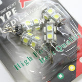 4 Pcs LED Corn Bulb G4, 9SMD, DC12V, 1.5W 220LM in one Package
