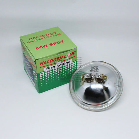 Fire Sealed 50W Spot Halogen Lamp