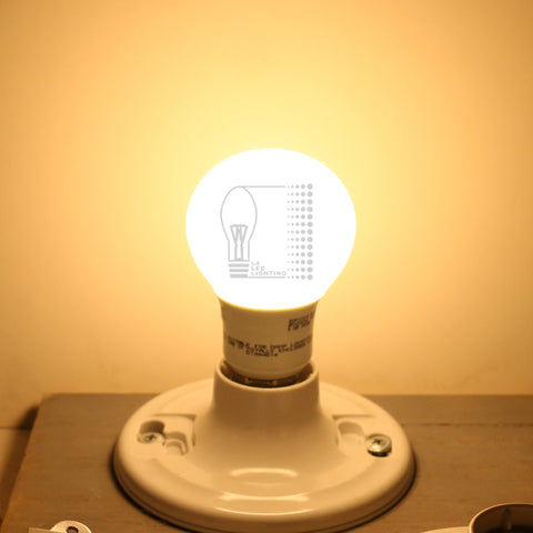 Dimmable 10 Pcs of LED A19 Bulb 120V, Warm Cool white