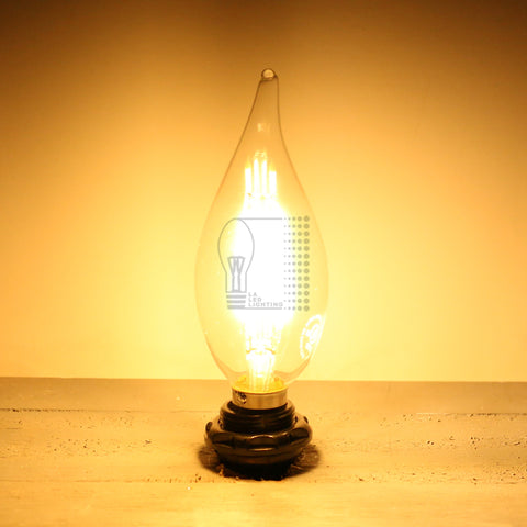 LED Fillament Candelabra