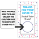 Personalized Polka Dot Loyalty Scratch Off Card