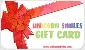 Unicorn Smiles Gift Card
