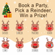 Free Christmas Pick A Reindeer Host a Party Graphic For Fashion Retailers and consultants
