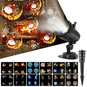Christmas Projector Lights, 14 Slides 10 Colors