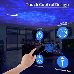 Smart 3 - 1 LED Night Light Projector