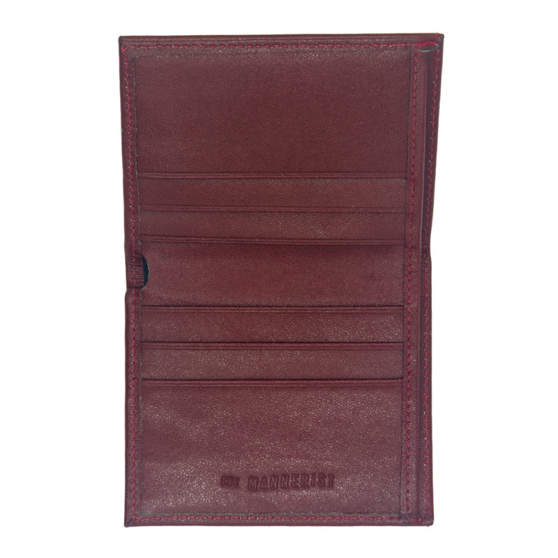 Stelo - Red Leather Wallet