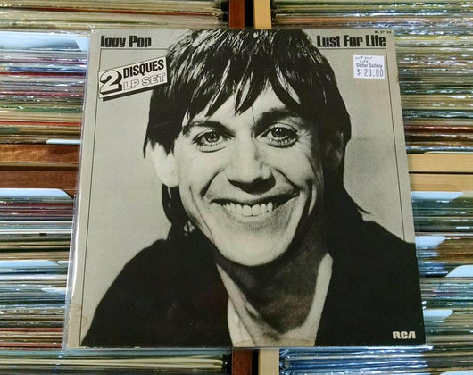 Iggy Pop - Lust For Life Double LP, Import