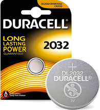 Duracell 2032 Replacement Battery for Snark, Polytune Clip Tuner