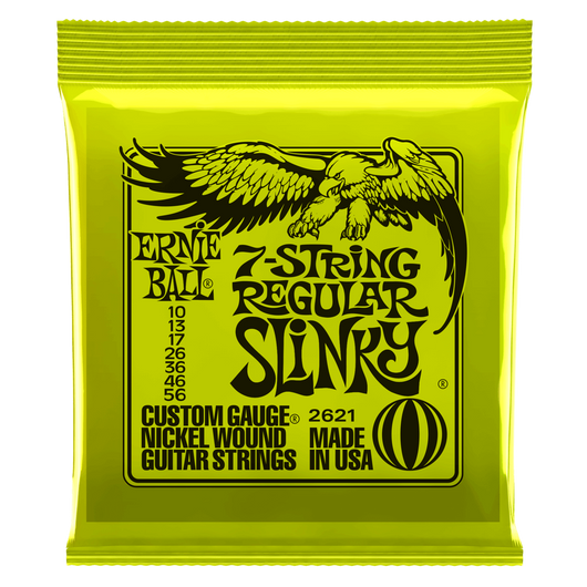 Ernie Ball Regular Slinky 7 String Electric Guitar Strings