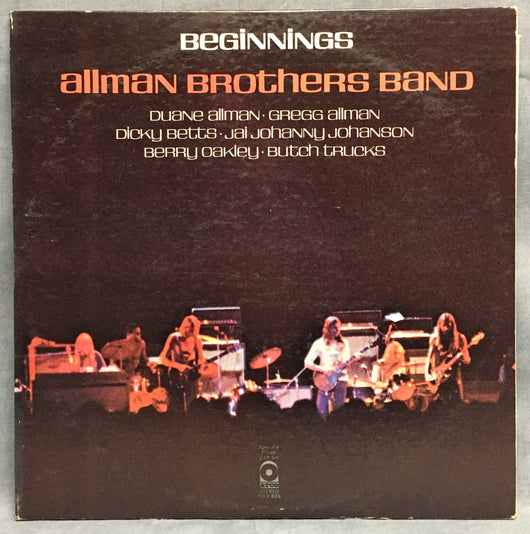 Allman Brothers Band - Beginnings, 2xLP, Gatefold, NM