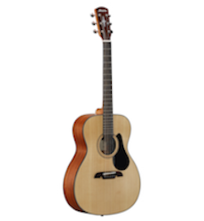 New Alvarez AF30 Solid Top Folk Size Acoustic Guitar  (Available for in store purchase only)