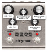 Strymon Deco Delay and Doubletracker Pedal [Available In-Store Only]