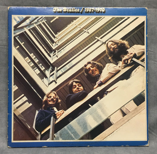 Beatles - 1967-1970 Double LP, Limited Edition Blue Vinyl