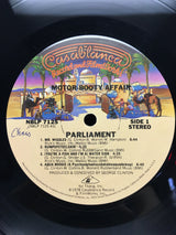 Parliament - Motor Booty Affair, Gatefold with Pop-up Artwork, EXC