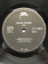 Edgar Froese - Aqua, German Import, NM