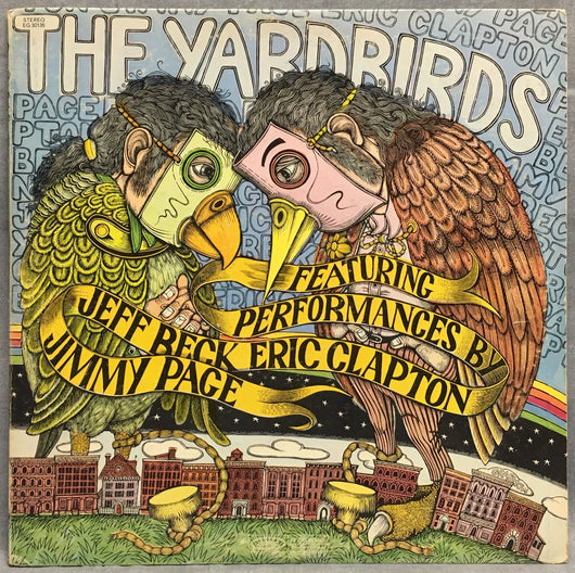 Yardbirds - Featuring Performances By: Jeff Beck, Eric Clapton, Jimmy Page, Gatefold, VG+