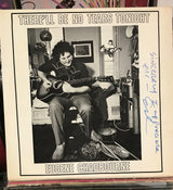 Eugene Chadbourne-There'll Be No Tears Tonight LP, Signed