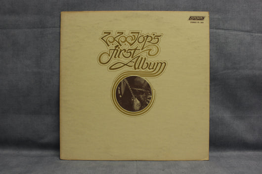 ZZ Top ‎– First Album, EXC, 1st Press