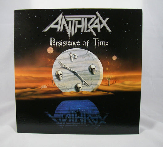 Anthrax - Persistence of Time LP, Club Version, Canada Press, NM