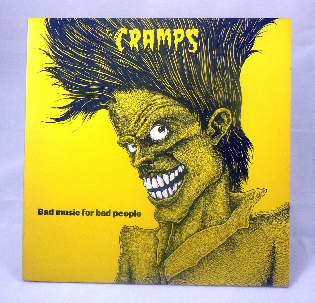 Cramps Bad Music For Bad People Lp Near Mint 1st