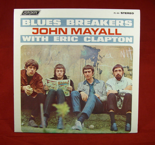 John Mayall with Eric Clapton - Blues Breakers LP, First Press Canada