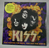 Kiss - You Wanted The Best, You Got The Best!! LP, Sealed