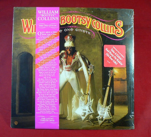 William Bootsy Collins -  The One Giveth, The Count Taketh Away LP, Sealed