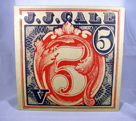 J.J. Cale - 5 LP, 1979 Folk Rock / Blues Rock, EXC Vinyl