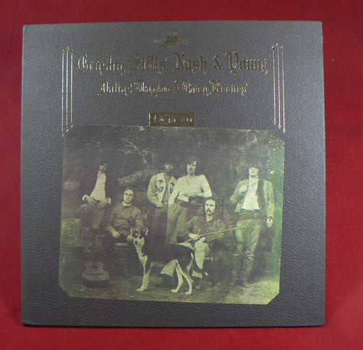 Crosby, Stills, Nash & Young - Deja Vu LP, 1st Press, Excellent Copy!