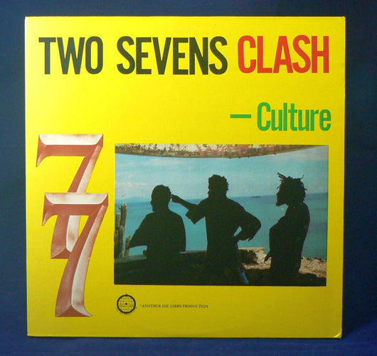 Culture - Two Sevens Clash LP, EXC