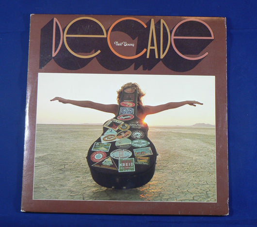 Neil Young - Decade Triple LP, 1st Pressing, NM Vinyl