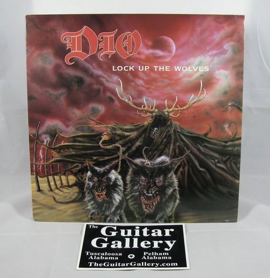 Dio - Lock Up the Wolves LP, EXC Vinyl