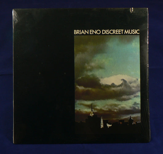 Brian Eno - Discreet Music LP, Sealed 1983 Reissue