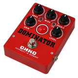 OKKO Dominator MkII High Gain Distortion Pedal, Red