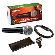 Shure PGA 48 Cardioid Dynamic Vocal Microphone