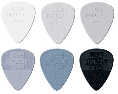 Dunlop Nylon Picks 12 pack