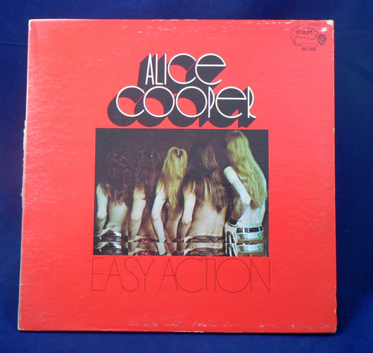 Alice Cooper ‎– Easy Action LP, 1st Pressing, VG+