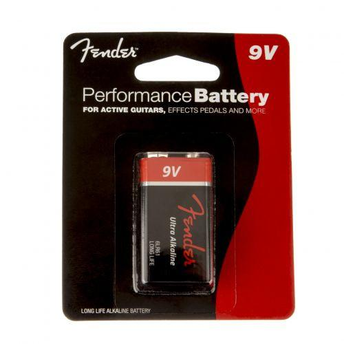 Fender 9 Volt Alkaline Battery, Single