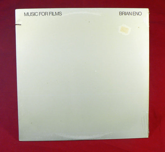Brian Eno - Music For Films LP, Sealed, 1982 Reissue