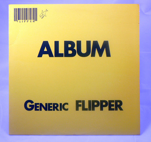 Flipper - Album Generic Flipper LP, 1st Pressing With Inserts
