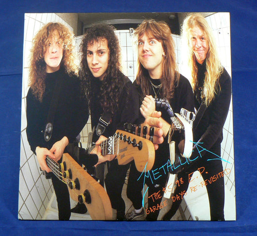 Metallica - The $5.98 E.P. - Garage Days Re-Revisited, 1st Pressing Club Edition