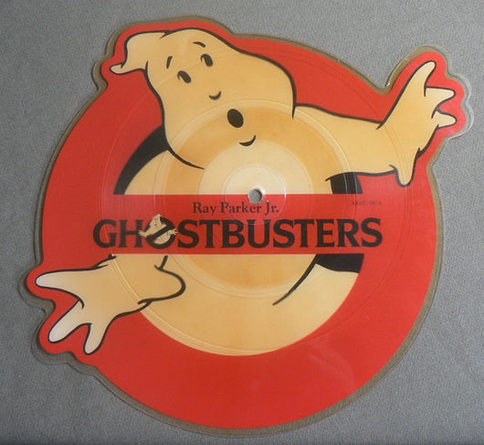 Ray Parker Jr. - Ghostbusters 45 Single, Shaped Promo Import