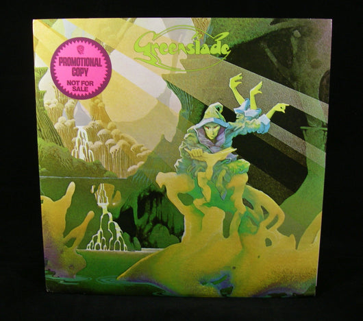 Greenslade - Greenslade LP, White Label Promo, 1st Press, 1973 Prog, NM- Vinyl