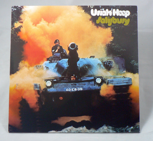 Uriah Heep - Salisbury LP, German Import, Reissue